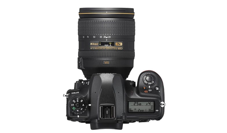 Nikon D780 DSLR Camera with 24-120mm Lens (Top)