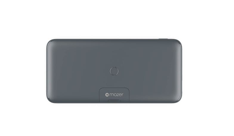 Mazer Power.BOOST EGWX21MGY (PD18W) 20000 mAh Wireless Power Bank - Grey (Front)