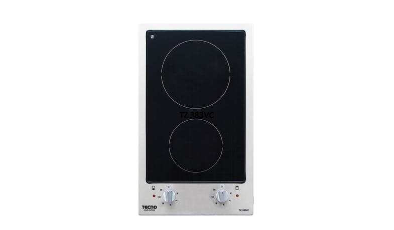 Tecno TZ 383VC Vitro Ceramic (2-Element Burner) Built-In Hob
