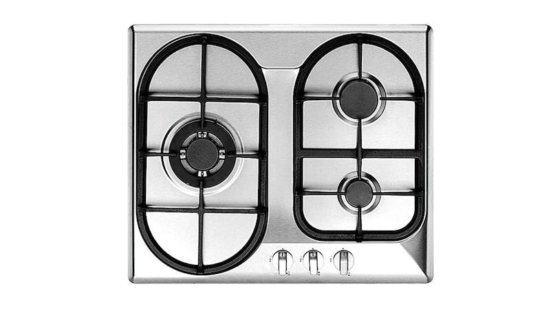Uno UP6300TRSV 3-Burner Built-In Gas Hob