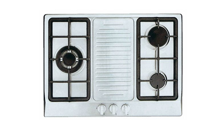 Uno UP7038TRSV 3-Burner Built-In Gas Hob