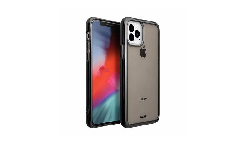 Laut Crystal-X iPhone 11 Pro Max Clear Case - Black Crystal