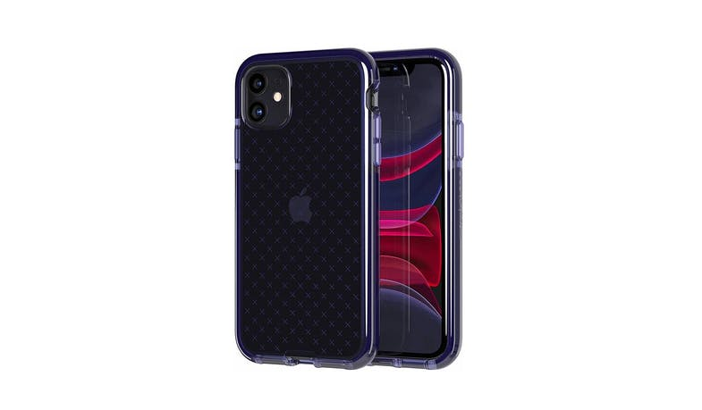 Tech21 T21-7255 iPhone 11 Evo Check Case - Indigo