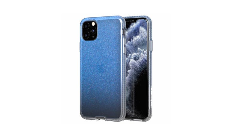 Tech21 T21-7279 iPhone 11 Pro Max Pure Shimmer Case - Blue
