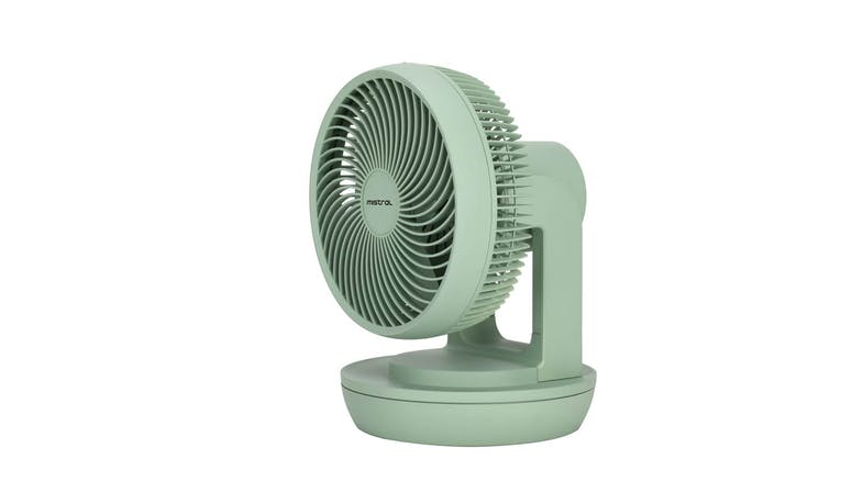 "Mistral MHV901R Mimica 9"" Velocity Fan with Remote Control - Green"