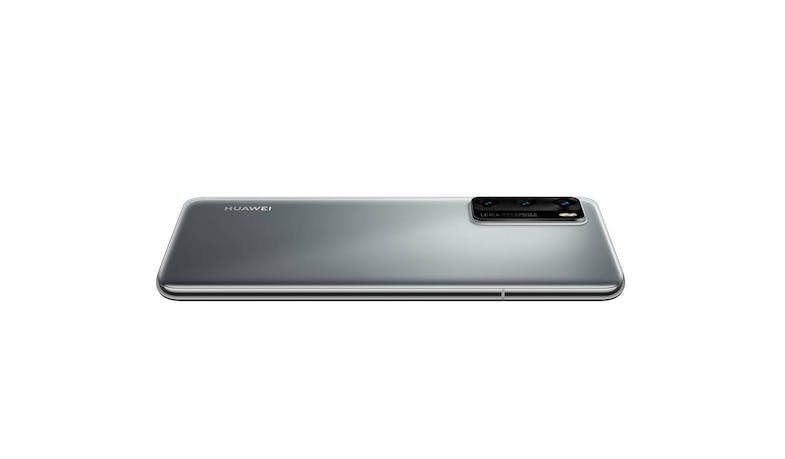 Huawei P40 Smartphone (Silver Frost) - Flat