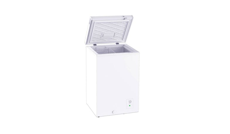 Tecno TCF138R 100L Chest Freezer - Alt Angle