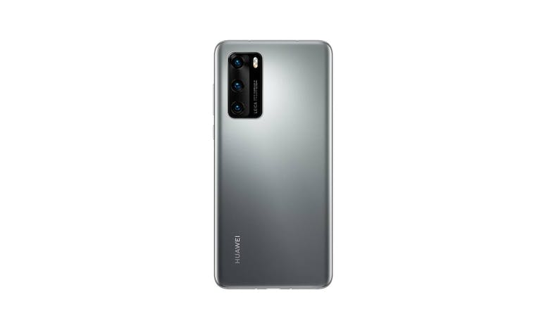 Huawei P40 Smartphone (Silver Frost) - Back