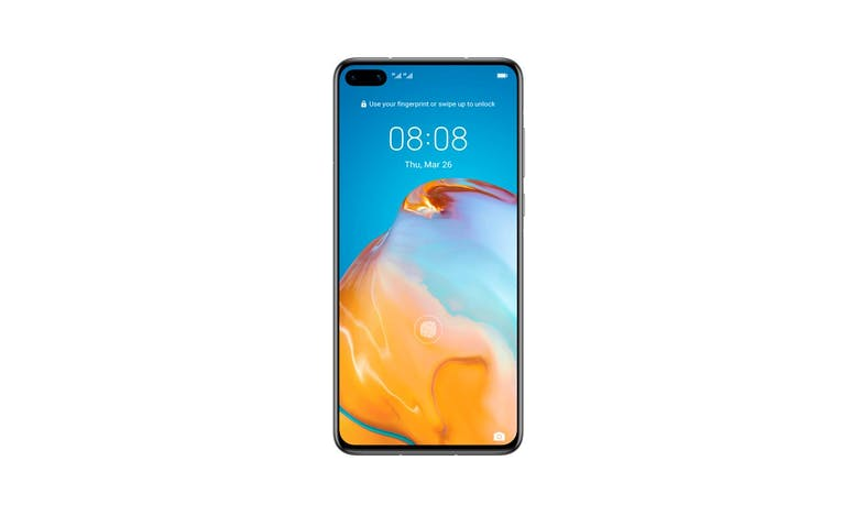 Huawei P40 Smartphone (Silver Frost) - Front
