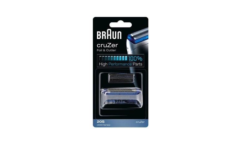 Braun Cruzer 20S Replacement Foil and Cutter Cassette