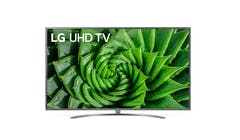 "LG 82UN8100PTB 82"" UHD 4K Smart TV - Front"