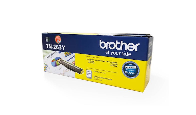 Brother TN-263Y Yellow Toner Cartridge