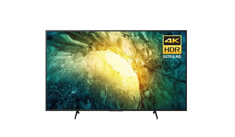 "Sony KD-43X7500H 43"" 4K Ultra HD Smart TV - Front"