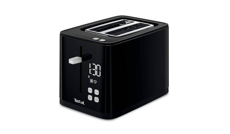 Tefal TT6408 Digital Black Toaster - Main