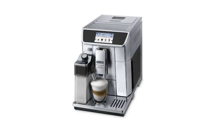 DeLonghi ECAM650.85.MS PrimaDonna Elite Experience Coffee Machine - Alt angle
