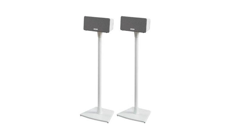 Sanus Wireless Speaker Stands for Sonos PLAY:1 and PLAY:3 - White - illustrate*