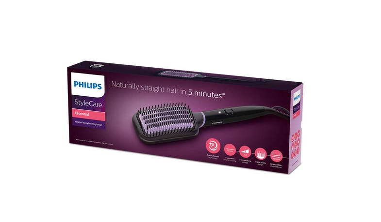 Philips BHH880/03 StyleCare Essential Heated Straightening Brush - Package