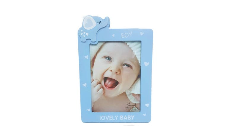"Friends HP-W2548BL-57 5x7"" Baby Elephant Photo Frame"