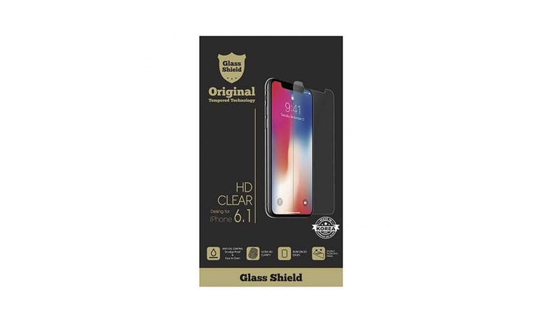"Mazer M-TG-I9HD61 iPhone 11/XR 6.1"" HD Glass Protector - Clear"