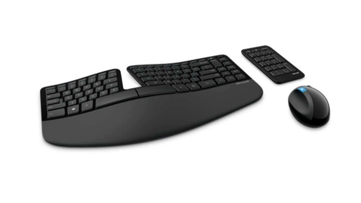 Microsoft Sculpt Ergonomic Desktop Wireless Keyboard And