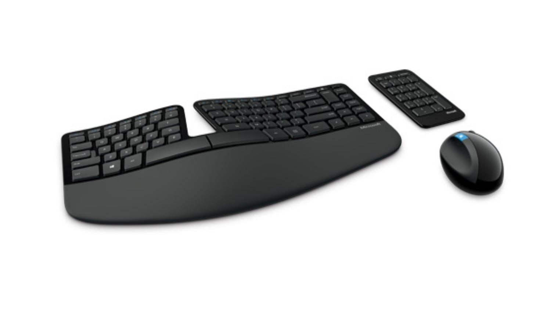 Microsoft Sculpt Ergonomic Desktop Wireless Keyboard And Mouse Comfort Harvey Norman Singapore
