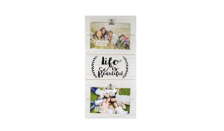 Friends EXW18308 Light Wooden Photo Clip Frame