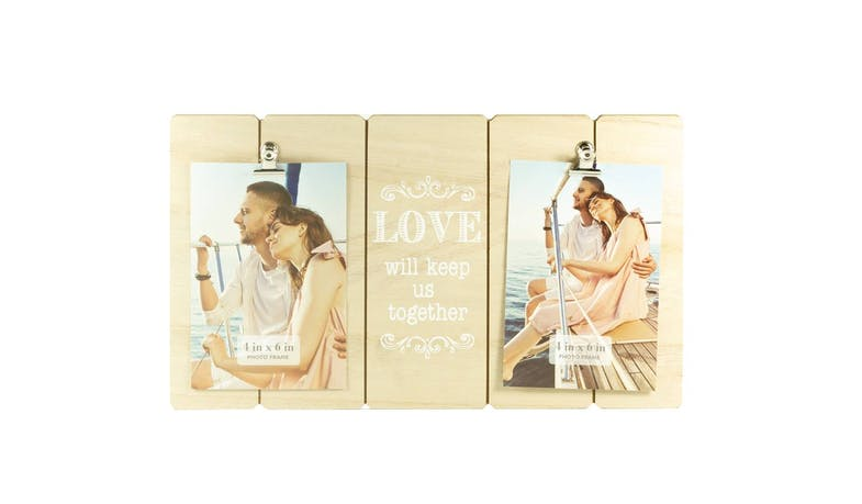 Friends EXW18306 Light Wooden Photo Clip Frame
