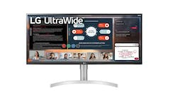 "LG 34WN650-W UltraWide 34"" FHD IPS Display Monitor - Front"