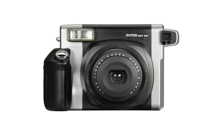 Fujifilm Instax WIDE 300 Instant Camera Kit - Black - Front