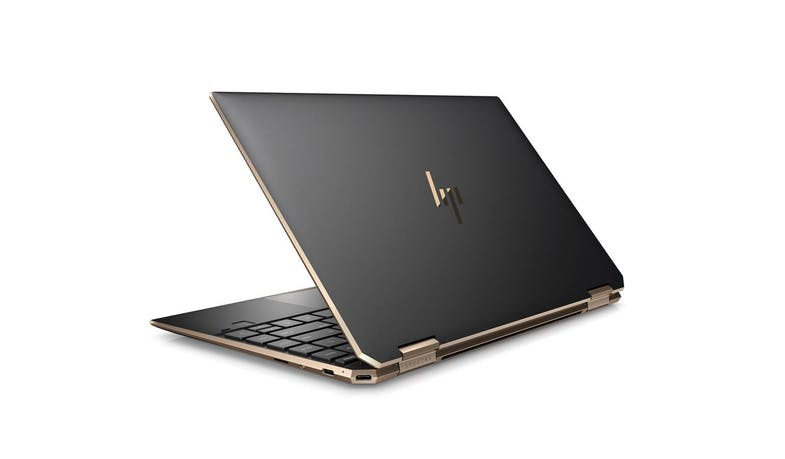 HP Spectre x360 13-aw0273TU (1P6M2PA) Convertible Laptop (Nightfall Black) - Rear