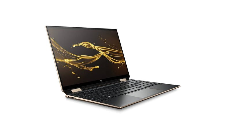 HP Spectre x360 13-aw0273TU (1P6M2PA) Convertible Laptop (Nightfall Black) - facing right
