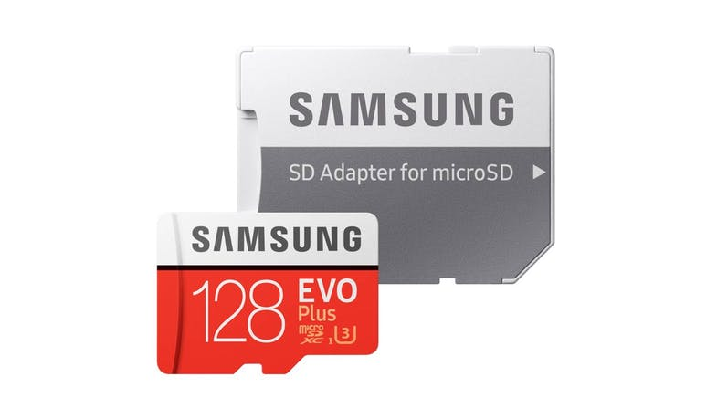 Samsung MB-MC128HAAPC EVO Plus MicroSD Memory Card - 128 GB - SD Adapter