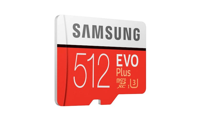Samsung MB-MC512HA/APC EVO Plus MicroSD Memory Card - 512 GB