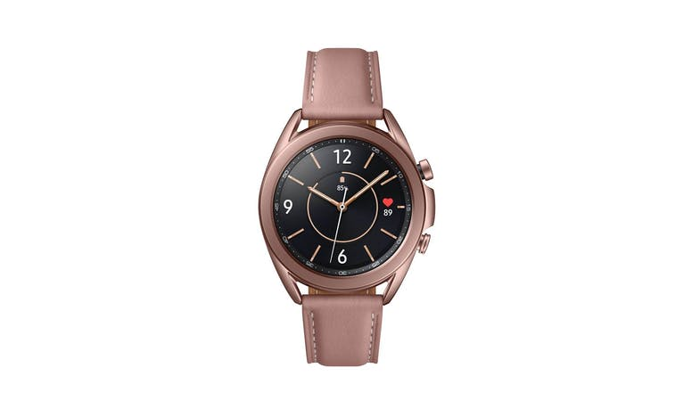 Samsung Galaxy Watch3 Bluetooth 41mm Smart Watch - Mystic Bronze - Front