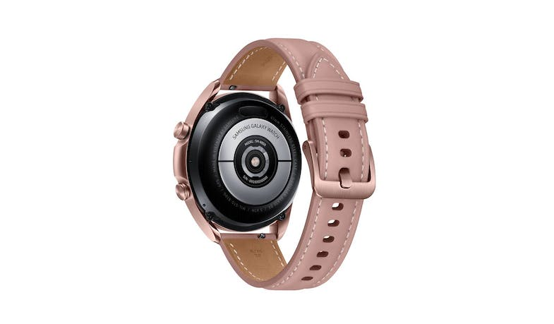 Samsung Galaxy Watch3 Bluetooth 41mm Smart Watch - Mystic Bronze - Back