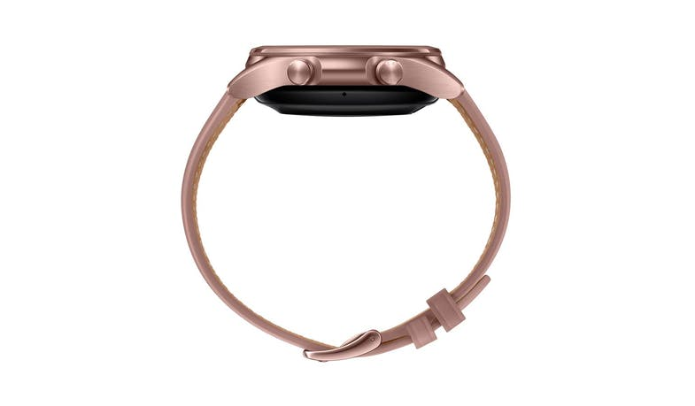 Samsung Galaxy Watch3 Bluetooth 41mm Smart Watch - Mystic Bronze - Side