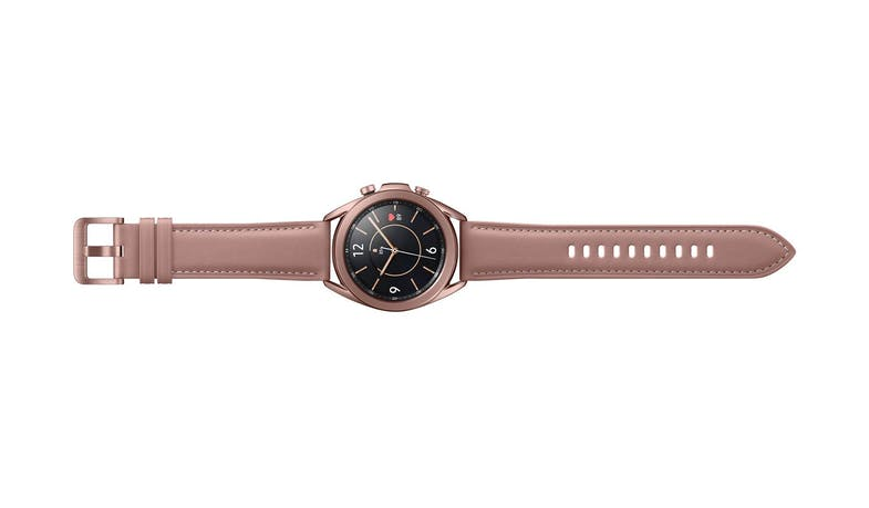 Samsung Galaxy Watch3 Bluetooth 41mm Smart Watch - Mystic Bronze - Band