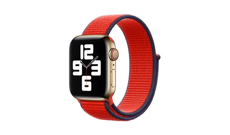 Apple MG443FEA 40mm Sport Loop - (PRODUCT)RED - illustrate