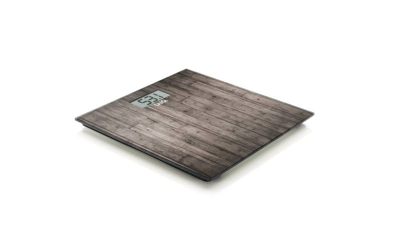 Laica PS1065 Electronic Weighting Scale - Dark Wood - alt angle