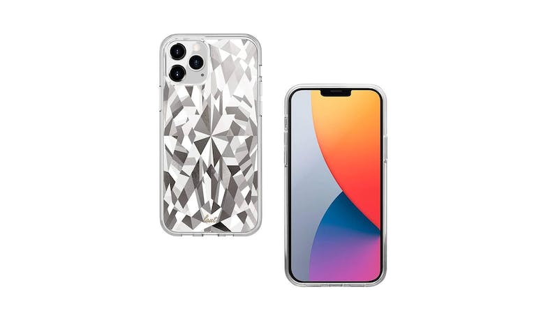 Laut Diamond iPhone 12  iPhone 12 Pro Case - front and back