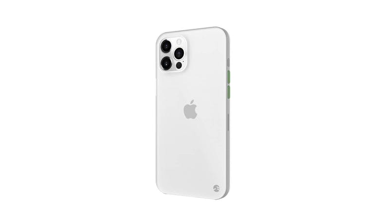 SwitchEasy 0.35 iPhone 12 Pro Ultra Slim Case - Transparent White - alt angle