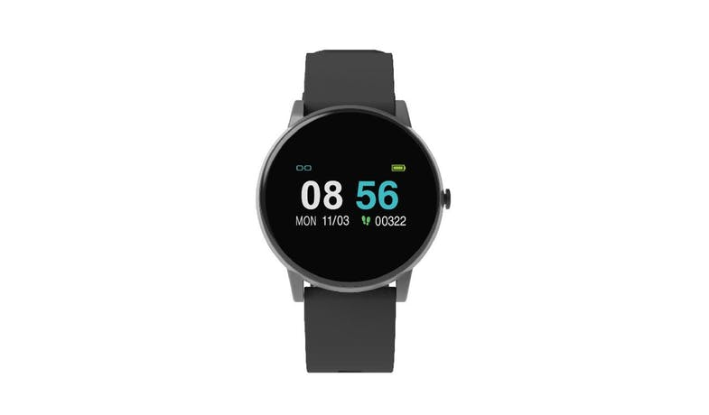 Oaxis OmniWatch - Black - Front