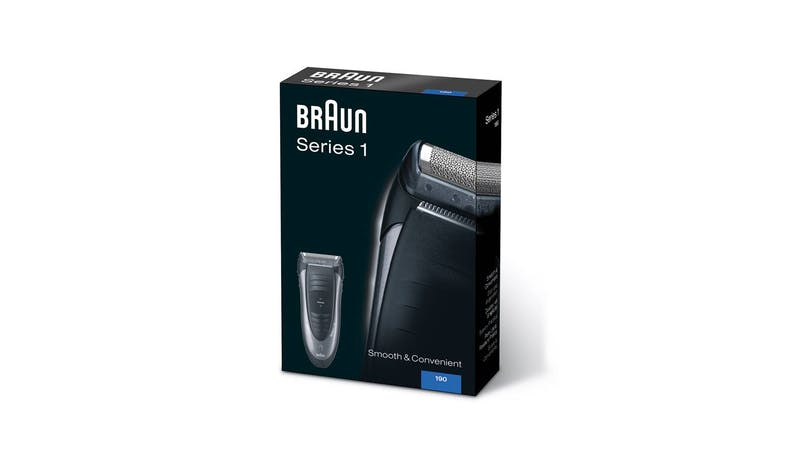 Braun Series 1 190s-1 Shaver (Package View)