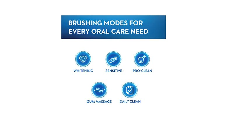 Oral-B SmartSeries5 5000 D601.525.5P Electric Toothbrush Powered By Braun