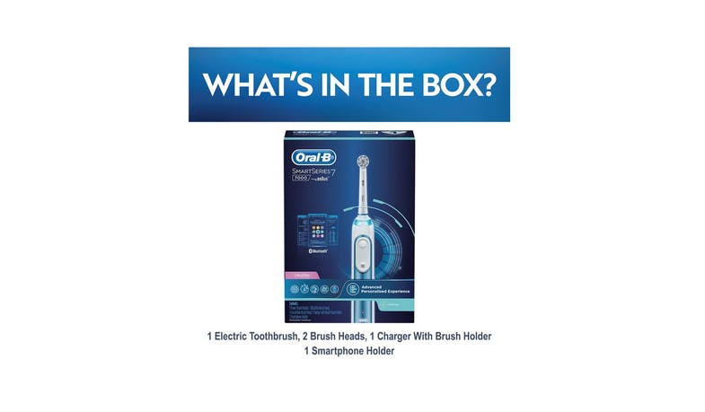 Oral-B SmartSeries 7000 D700.524.5XP Rechargeable Electric Toothbrush Powered by Braun