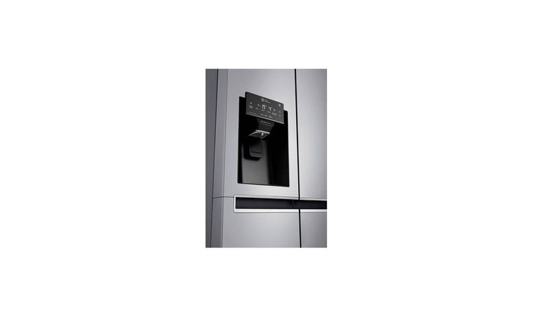LG GS-L6013PZ (Net 601L) Side-By-Side Refrigerator (Outside View)