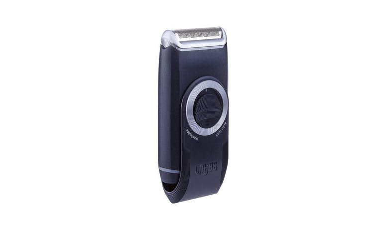 Braun M30 MobileShave Pocket Shaver (Side View)