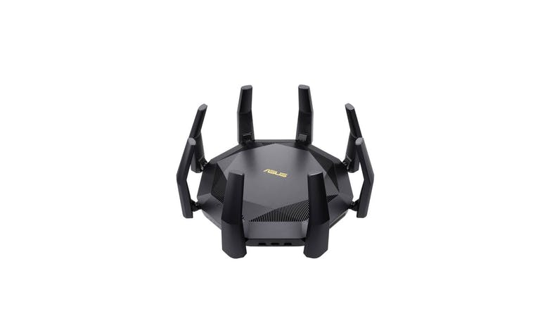 Asus RT-AX89X 12-stream AX6000 WiFi Router (Front View)
