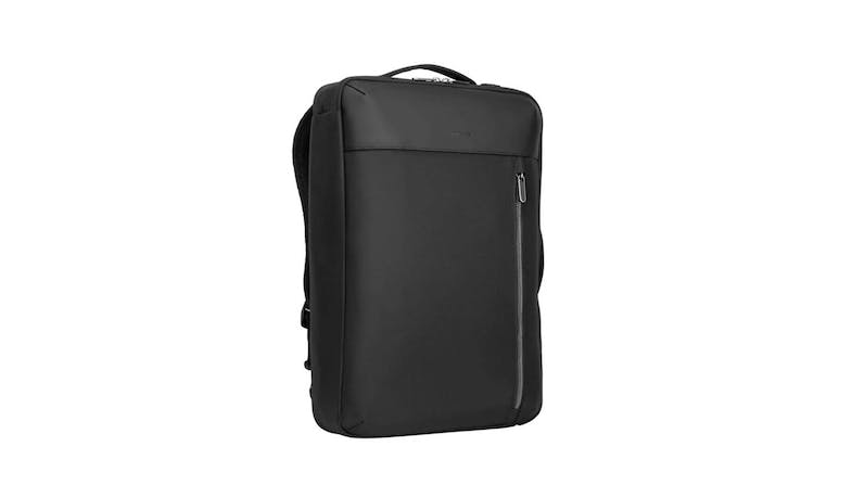 "Targus TBB595GL 15.6"" Urban Convertible Backpack - Black (Front View)"