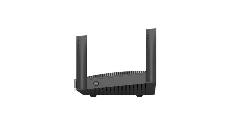 Linksys Dual-Band Mesh WiFi 6 Router (MR9600) - Side View